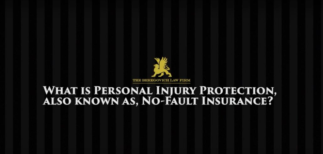 What is Personal Injury Protection Also Known As, No-Fault Insurance?